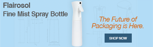 Check out our new Flairosol Fine Mist Spray Bottle. The future of packaging is here.