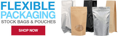 Packaging Options Direct is your go-to source for wholesale flexible pouches. Our high-quality products are available in a variety of styles, sizes, and color options including foil, white, natural, silver, and black. Our stock bags and pouches make it effortless for you to find the perfect packaging solution for your next product line. Make the switch to flexible packaging today.