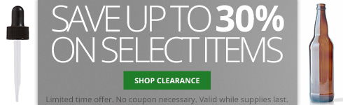 Save up to 30% on select clearance items. Limited time offer. No coupon necessary. Valid while supplies last.