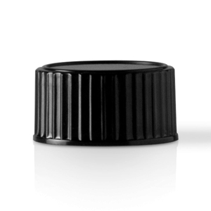 Picture of 20-400 Continuous Thread Lined Black Phenolic Closure