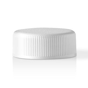 Picture of 28-400 Continuous Thread Lined White Plastic Closure