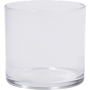 Picture of 7 oz Round Glass Flint Candle Jar