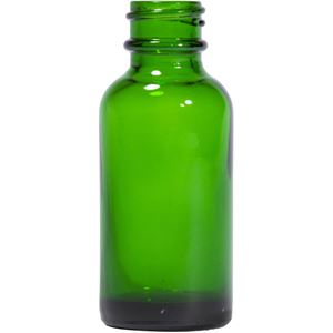 Picture of 1 oz Round Glass Green Boston Round Bottle