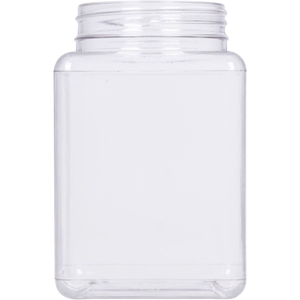 Picture of 19 oz PET Clear Square Jar