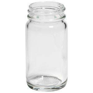 Picture of 2 oz Round Clear Glass Wide Mouth Jar WHOLESALE