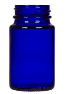 Picture of 75cc Cobalt Blue Glass Packer