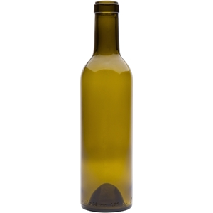 375 ml Antique Green Glass Claret Wine Bottle | 29.7mm Cork Neck Finish | 300 Gram Weight