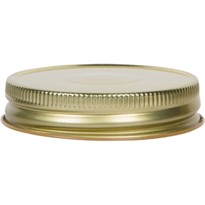 70-450 Continuous Thread Gold Out / Buff In Metal Closure - Front View