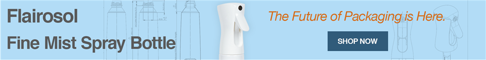 Check out our new Flairosol Fine Mist Spray Bottle.
