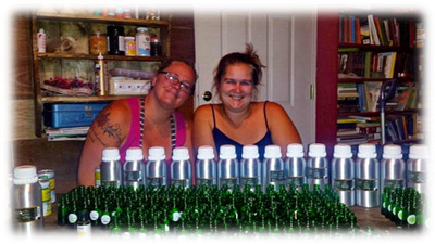 Two Ladies Creating Essential Oils