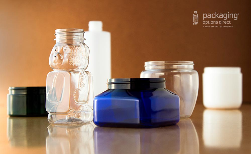 Product Packaging Types - Bottles and Jars