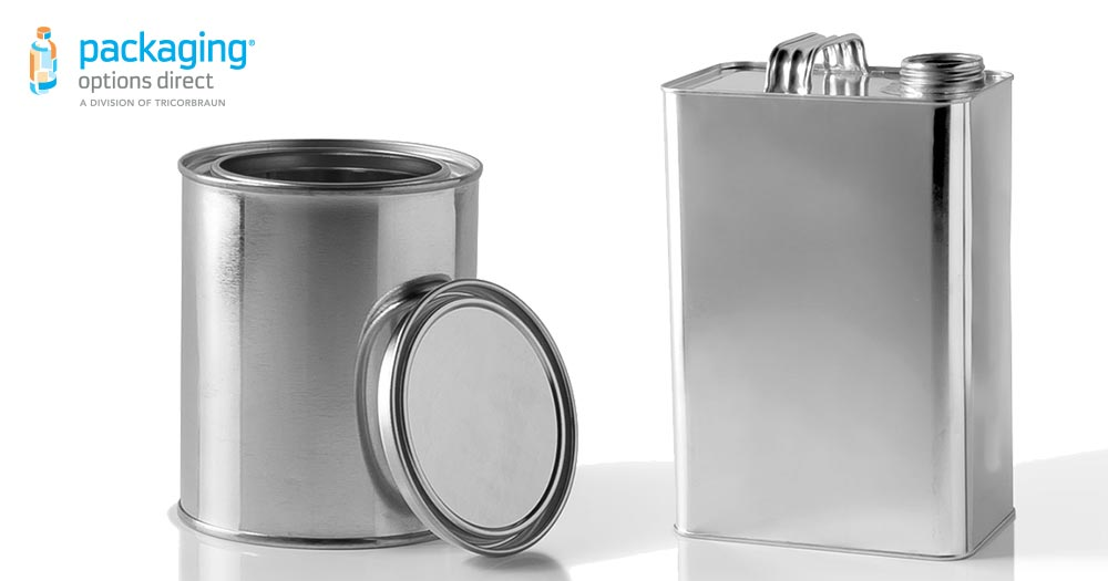 Product Packaging Types - Metal Cans