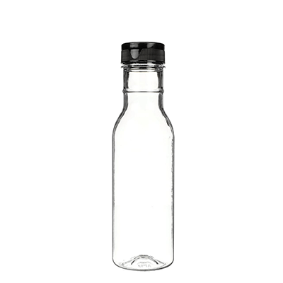 12 oz PET Sauce Bottle with Lined Closure