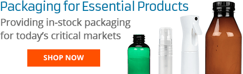 Packaging for Essential Products: Providing in-stock packaging for today's critical markets.