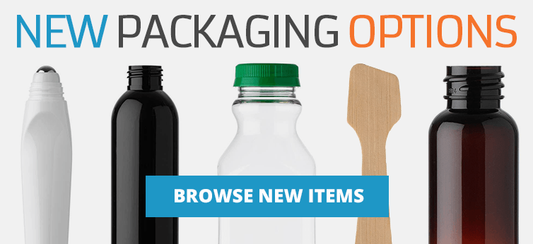 Check out the latest new additions. We are adding tons of new items every week so check back often. Looking for something you don't see? Give us a call and let our Packaging Consultants help find the ware you are looking for.