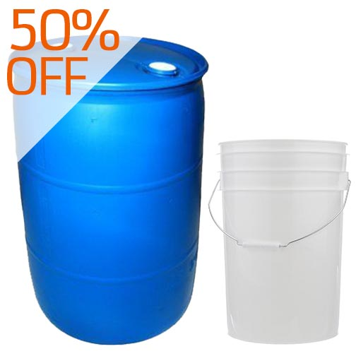 Clearance - Pails & Drums
