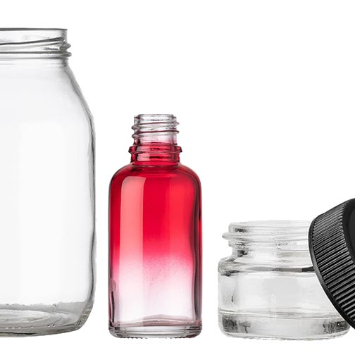New Glass Bottles & Jars