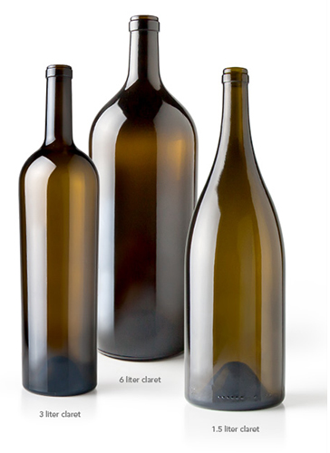Large Format Wine Bottle