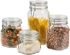 Group photo for 1500 ml Clear Glass Square Latch Top Jar