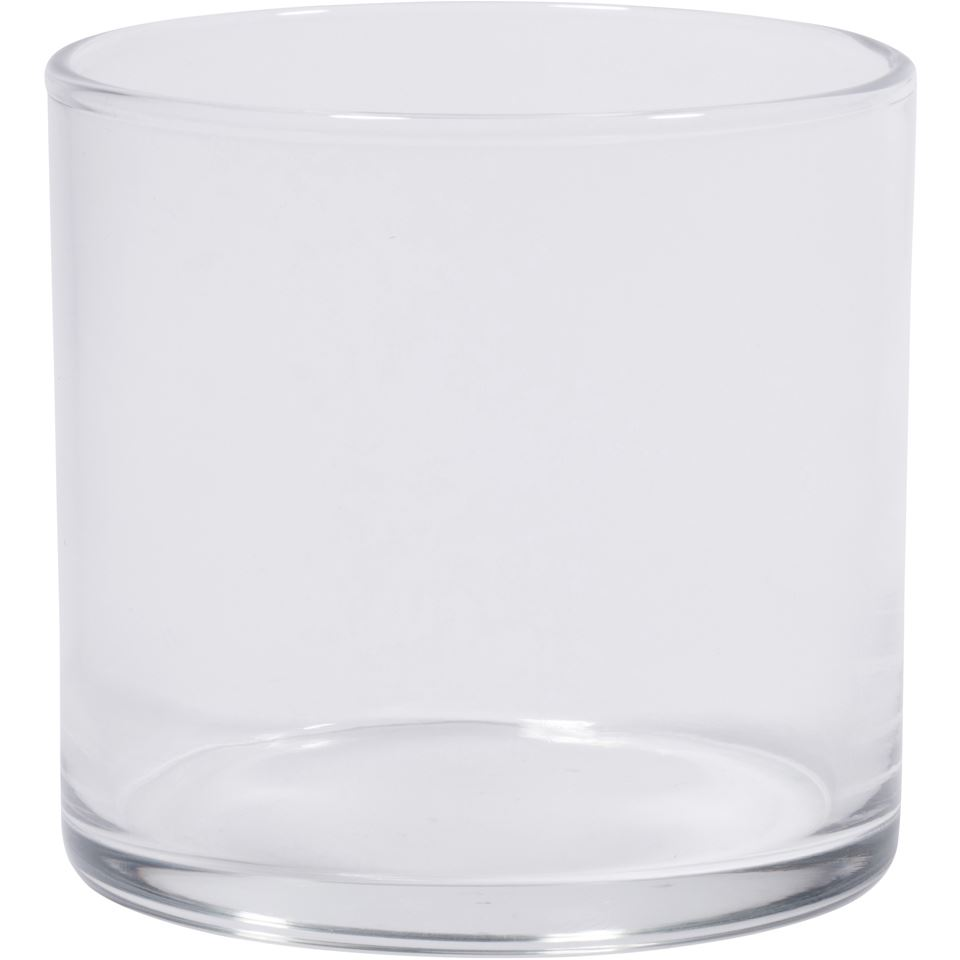 7 Oz Round Glass Flint Candle Jar Packaging Options Direct