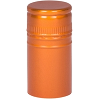 Copper Stelvin Closure with Saranex Oxygen Barrier - Front View
