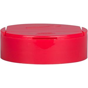 63-485 Dual Dispensing Flip Top Lined Red Closure