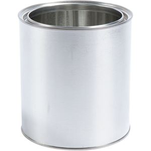 0.5 Gallon Metal Can Round