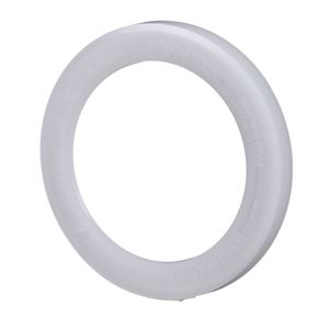 Natural HDPE Plastic Locking Ring for 1 Pint Metal Can