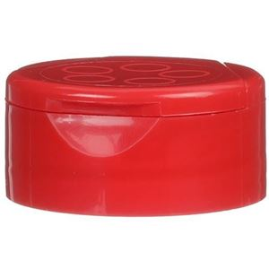 43-485 Flip Top Dispensing Lined Red Closure