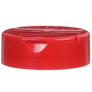 53-485 Dual Dispensing Flip Top Unlined Red Closure