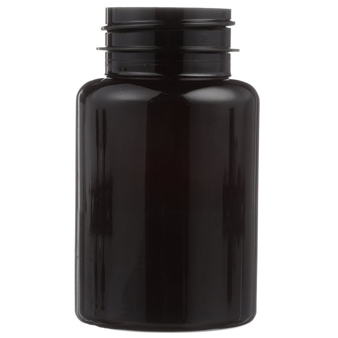 120 Cc Dark Amber Pet Plastic Round Packer Bottle 38 400