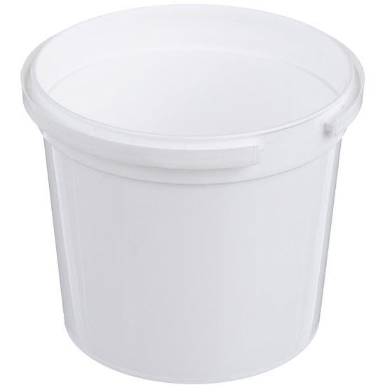 360 Product Spin Icon 12 Oz White P Plastic Tub Round Tamper Indicating Child Resistant