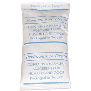 3 Gram Silica Gel Desiccant Pillow Pack - FDA and USDA Compliant - Front View