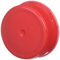 38mm Special Tamper Evident Linerless Red Closure - Snap On/Screw Off - Angled View