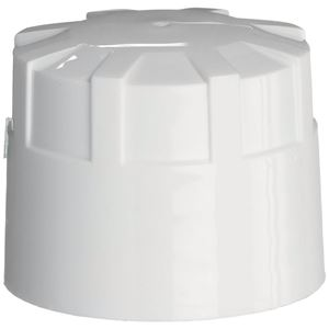 38-430 Buttress Continuous Thread White P/P Closure - HeatSeal/Foam Liners - Front View