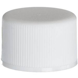 20-410 Round P/P White Continuous Thread (CT) Closure - Front View