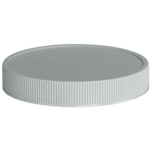 70-400 Continuous Thread Unlined Gray P/P Plastic Closure - Front View