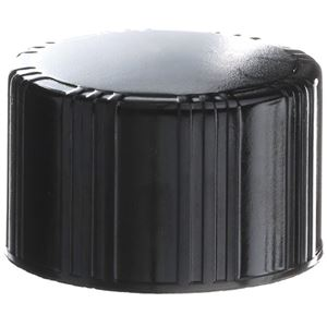 33-430 Buttress Continuous Thread Black Phenolic Closure - F217 Foam Liner  - Front View