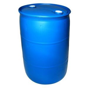 55 Gallon Blue HDPE Plastic Tight Head Drum
