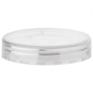 Clear P/S Plastic Continuous Thread Closure - for 10 ml Jar - Side View