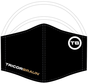 Picture of TricorBraun Branded Triple-Layer Breathable Mask - Pack of 3