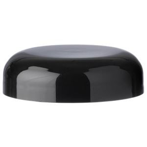 53-400 Black P/P Continuous Thread Dome Closure