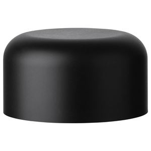 53-400 P/P Plastic Dome Child Resistant Closure, Matte Black
