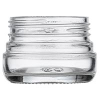 Picture of 2 oz Glass Heavy Wall Squat Jar 53-400 Neck Finish, Clear