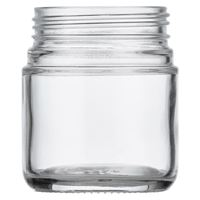 Picture of 4 oz Glass Heavy Wall Squat Jar 53-400 Neck Finish, Clear