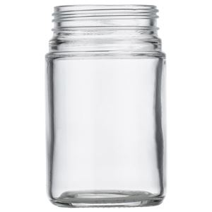 Picture of 6 oz Glass Heavy Wall Squat Jar 53-400 Neck Finish, Clear