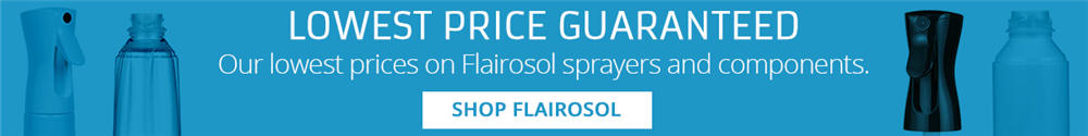 In addition to our new lower pricing, you will also receive free ground shipping on all Flairosol sprayers and components on orders over $149. Discount applied automatically at checkout.